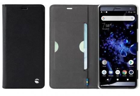 Krusell Folio Wallet Tasche Smart Schutz-Hülle Case Cover für Sony Xperia XZ2