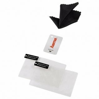 Hama 2x Displayschutzfolie Schutzfolie Display Folie für PSP GO N-1000 N-1004