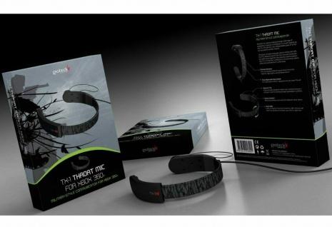 Gioteck Kehlkopf-Mikrofon Kehkopfmikrofon Mikro 2, 5mm für XBOX ONE 360 Konsole - Vorschau 4