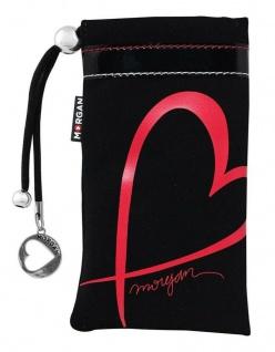 Morgan Pouch Herz Schutz-Hülle Case Tasche Etui Bag für Handy MP3-Player Walkman
