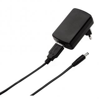 Hama Ladegerät Netzteil Lader Lade-Kabel für Creative MP3-Player Zen Vison Stone