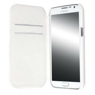 Krusell Leder Flip-Tasche für Samsung Galaxy Note II 2 N7100 Etui Hard-Cover Bag