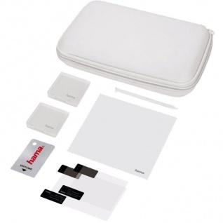 Hama Basic Set 8in1 Tasche Spiele-Hüllen Hard-Case Folie für Nintendo New 3DS
