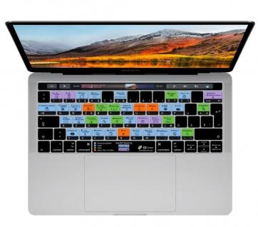 Tastatur-Skin Abdeckung Deutsch Shortcut Hotkeys Cover für MacOS MacBook Pro Air