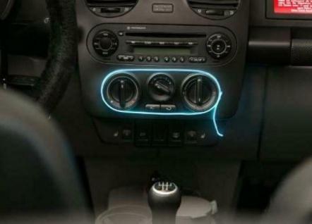 LED Wire Licht-Schnur 12V Auto PKW LKW blau Licht-Schlauch Innenraum LED-Lampe - Vorschau 3