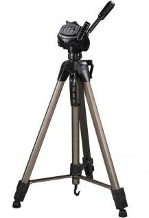 Hama Dreibein-Stativ Star 64 185cm 3D 3-Wege-Kopf Kamera-Stativ Foto-Stativ