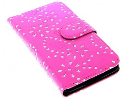 Patona Slim Flip Book-style Klapp-Etui Schutz-Hülle für Samsung Galaxy S5 / Neo