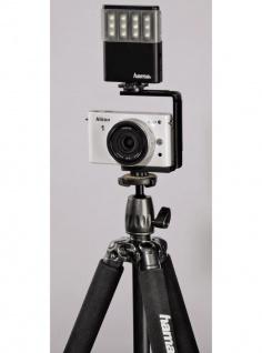 Hama LED-Leuchte Power Foto/Video Fotolicht Blitzschuh Kamera Licht Kopflicht - Vorschau 3
