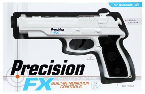 Datel Controller FX Pistole integrierter Nunchuk Light-Gun für Nintendo Wii WiiU