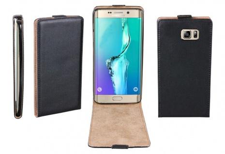Patona Slim Flip Klapp-Tasche Schutz-Hülle Case für Samsung Galaxy S6 Edge+ Plus