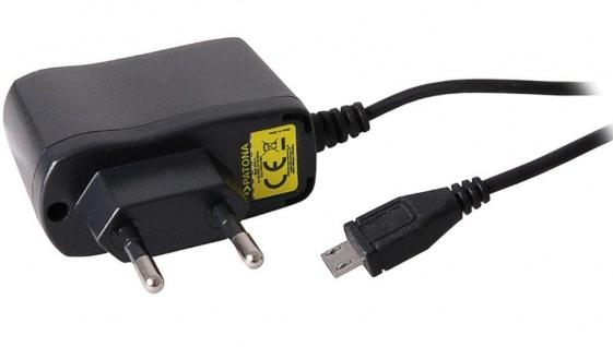 Patona Micro-USB Ladegerät 5V 1A Netzteil Netz-Lader Ladekabel Handy Smartphone