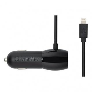 XtremeMac Dual KFZ Adapter Lightning USB Ladekabel iPhone 8 X 7 6s 6 SE iPad Air