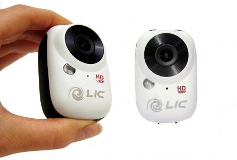 Liquid Image EGO WiFi Action-Cam Kamera Camcorder Helm Fahrrad MTB Motorrad Ski - Vorschau 3