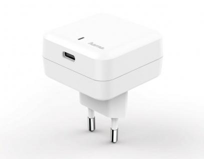 Hama Schnell-Ladegerät USB-C Power Delivery PD Netzteil Netz-Lader USB C-Port