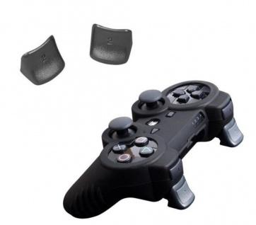 Brooklyn Pack + Silikon Hülle Tasche + Triggers für Sony PS3 Wireless Controller