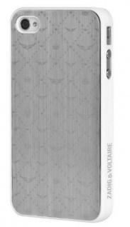Zadig & Voltaire Cover Case Schutz-Hülle Hardcover Tasche für Apple iPhone 4 4S