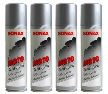 4x Sonax Sprüh-Wachs Spray Wax Schutz-Wachs Versieglung PKW Motorrad Fahrrad