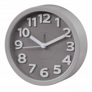 Hama Retro Analog Wecker Uhr Leise Zeiger Batteriebetrieben Alarm