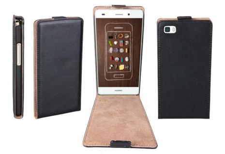 Patona Slim Flip-Cover Klapp-Tasche Schutz-Hülle Cover Case für Huawei P8 Lite