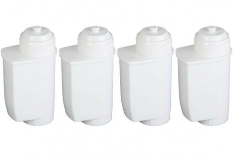 4x Pack ScanPart Wasserfilter Kaffeevollautomat für Bosch Brita Intenza TCZ7003