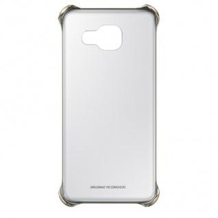 Original Samsung Clear Cover Hard-Case Tasche Schutz-Hülle für Galaxy A3 (2016)