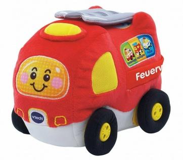 Vtech Tut Tut Baby Flitzer Krabbel-Spaß Feuerwehr Motorik-Spielzeug Krabbeln