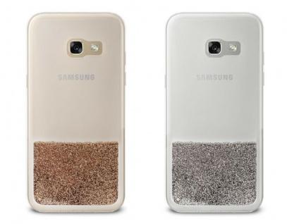 Puro Cover Sand Liquid Glitter Hard-Case Schutz-Hülle für Samsung Galaxy A5 2017