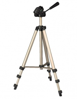 Hama Dreibein-Stativ Star 75 125 cm 3D 3-Wege-Kopf Kamera-Stativ Foto-Stativ