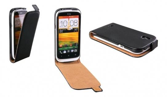 Patona Slim Flip Cover Klapp-Tasche Schutz-Hülle Cover Case für HTC Desire V