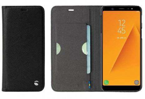 Krusell Folio Wallet Tasche Smart Hülle Case Cover für Samsung Galaxy A6 2018