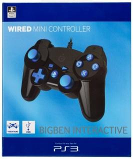 Bigben Mini Controller Offiziell Lizenziert Game-Pad Joypad für Sony PS3 Konsole