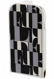 ELLE Handy-Tasche Flap Case für Samsung Galaxy S4 Mini Etui Klapp-Tasche Hülle