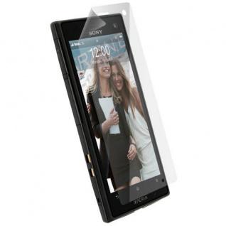 Krusell Display Schutz Folie Schutzfolie für Sony XPERIA acro S LT26w Screen