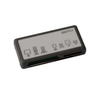 Sepia All-in-One USB Kartenleser Adapter Multi Card-Reader SD SDHC MMC CF MS SM