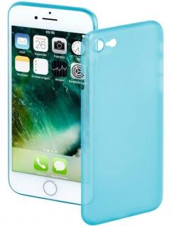 Hama Handy-Cover Ultra Slim Blau Schale Case Schutz-Hülle für Apple iPhone 7 / 8