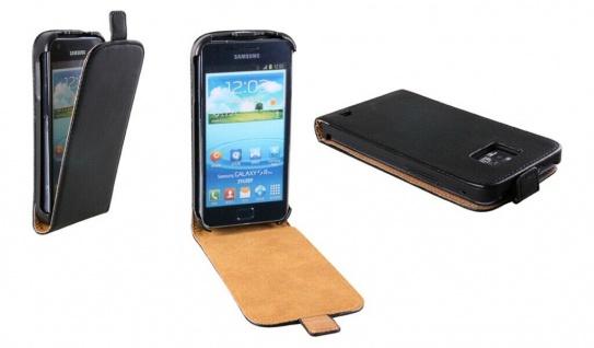 Patona Slim Flip Klapp-Tasche Schutz-Hülle für Samsung I8262D Galaxy Core Duos