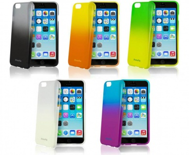 XtremeMac Cover Verlauf Transparent Hülle Bumper für Apple iPhone 6 Plus 6s Plus