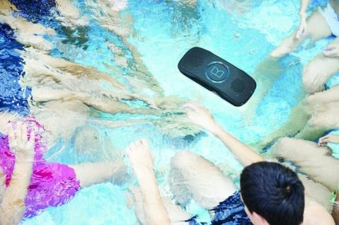 Monster Backfloat Bluetooth Schwimm-Lautsprecher Pool schwimmend Schwimmbad Box - Vorschau 1