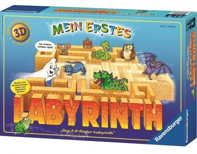 Ravensburger Mein Erstes Labyrinth 3D Wände Kinder-Spiel Familien-Spiel 89746