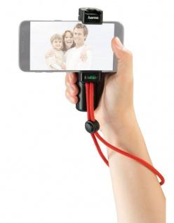 Hama Profi Handy Video-Halterung Halter mit Griff Stativ Mono-Pod Smartphone