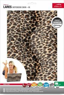 """Speedlink LARES Notebook Skin 15"""" 16"""" Leopard Fell Aufkleber Cover Schutz-Folie - Vorschau 3"""