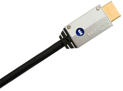 Monster Cable HQ HDMI-Kabel 2m Metall-Stecker High-Speed Ethernet Full-HD TV 3D