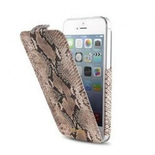 Just Cavalli Flip-Case Tasche Schutz-Hülle Tasche Cover für Apple iPhone SE 5 5s