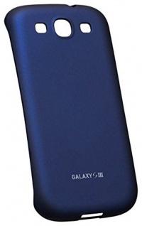 Samsung Soft Cover Schutz-Hülle Case Tasche blau für Samsung Galaxy S3 SIII