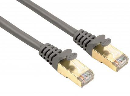 Hama 7, 5m Netzwerk-Kabel Cat5e STP Lan-Kabel Patch-Kabel Cat 5e Gigabit Ethernet