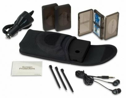 Nintendo Neo Sleeve Starter Set Tasche Headset Kfz-Lader Game Cases für DSi