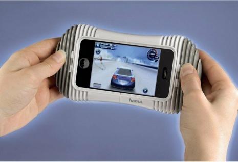 Hama Game Pad Controller Tasche Cover Schutz-Hülle Case für Apple iPhone 3GS 3G