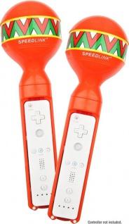 Speedlink Maracas Rumba-Rasseln Controller für Wiimote Remote Samba de Amigo etc