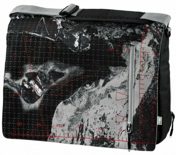 "aha Design Notebook-Tasche Messenger Aerial 15"" 15, 4"" 15, 6"" Laptop Case Bag Etui"