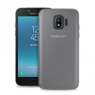 Puro Ultra Slim 0.3 Nude Cover TPU Case Schutz-Hülle für Samsung Galaxy J2 2018